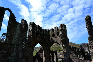Llanthony Priory, Brecon Beacons National Park, Wales, United Kingdom