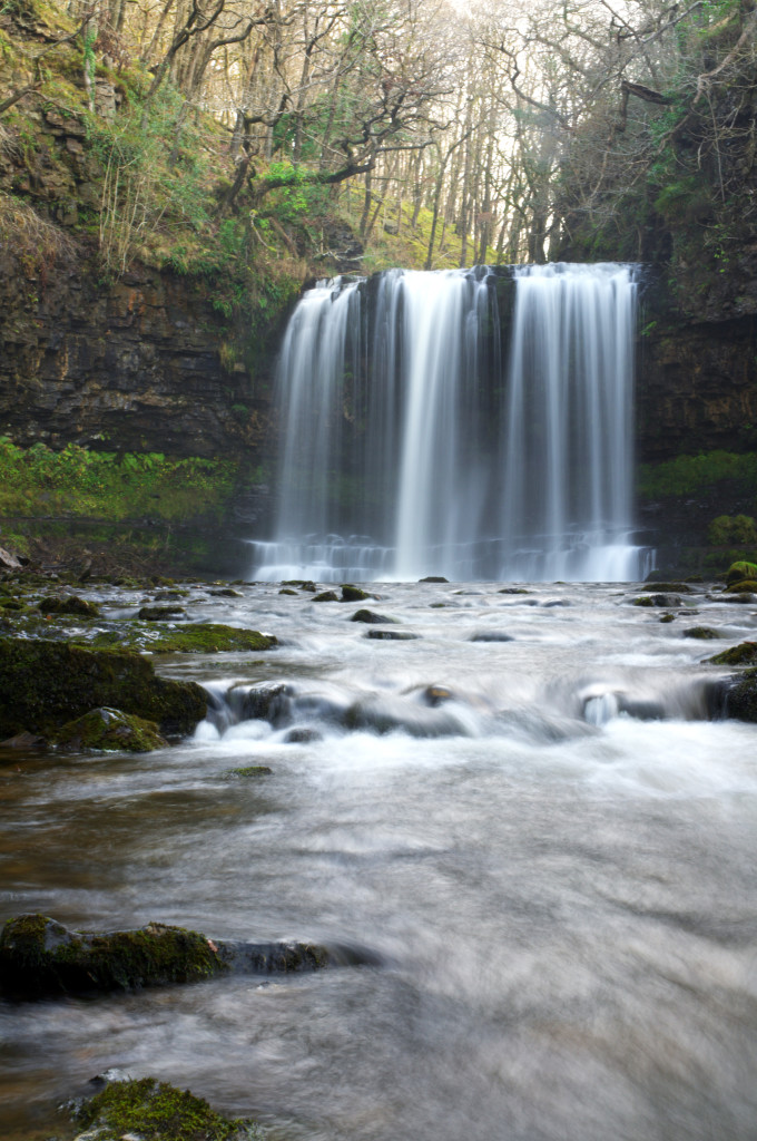 Ystradfellte Waterfals, Brecon Beacons national park, Wales, United Kingdom